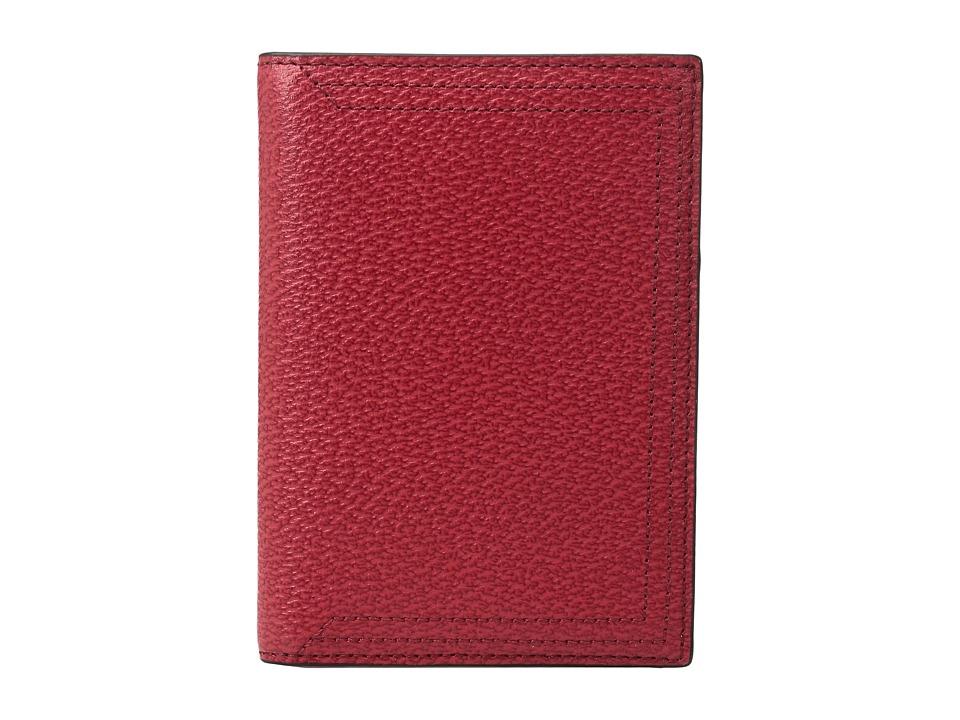 Lodis Accessories - Stephanie Under Lock Key Passport Cover (Red) Wallet