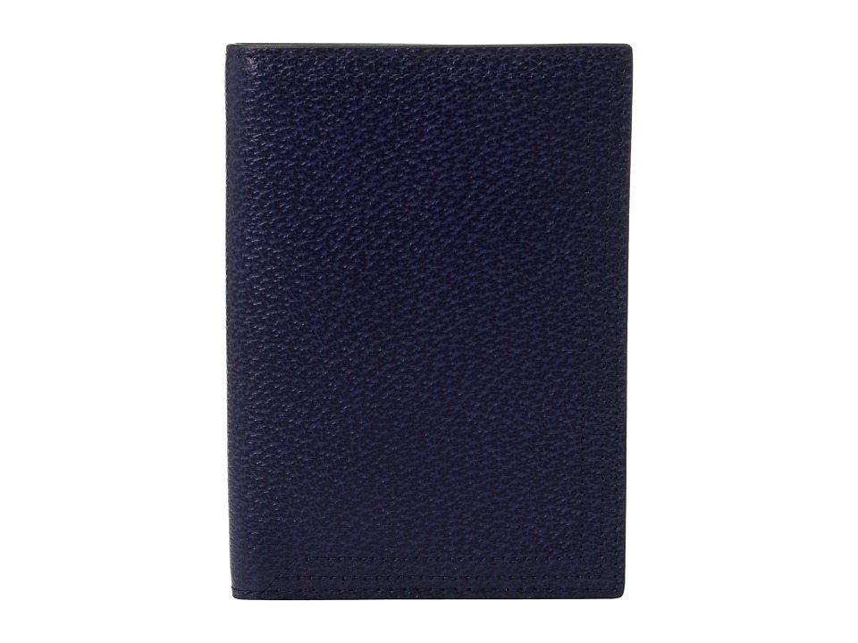 Lodis Accessories - Stephanie Under Lock Key Passport Cover (Midnight) Wallet