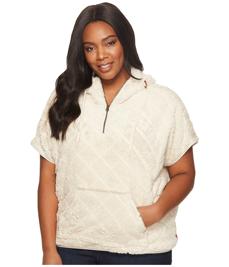 Columbia Plus Size Fire Side Sherpa Shrug (Chalk) Women