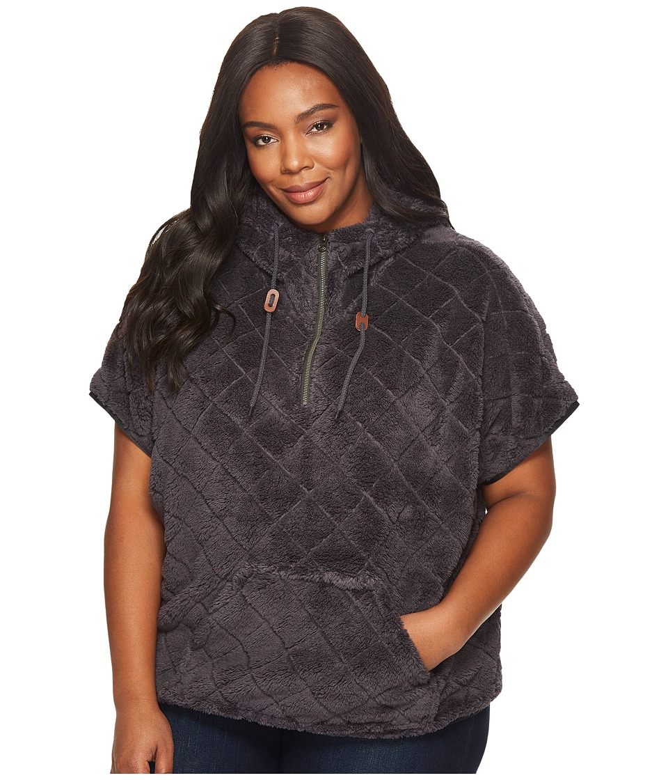 Columbia Plus Size Fire Side Sherpa Shrug (Shark) Women