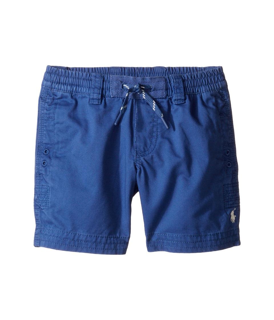 Polo Ralph Lauren Kids - Broken Twill Relaxed Shorts (Toddler) (Sporting Blue) Boy's Shorts