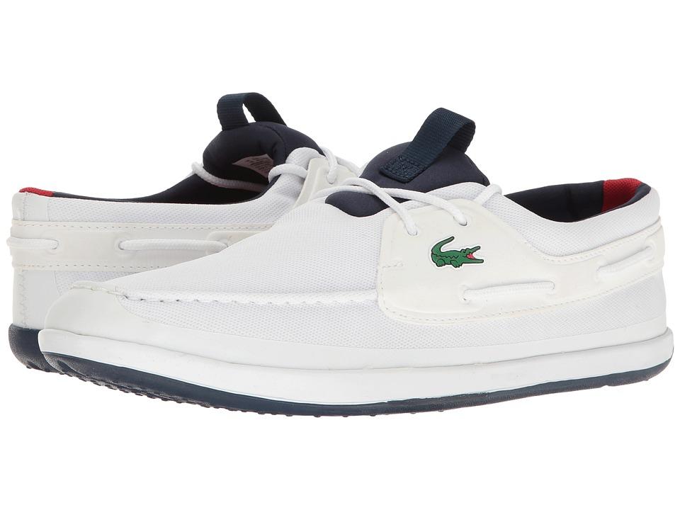 Lacoste L.andsailing 316 3 White Mens Shoes