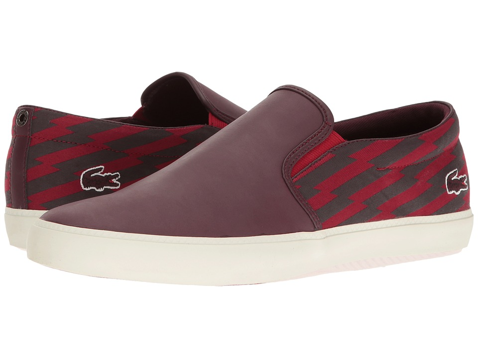 Lacoste Gazon (Dark Red) Men