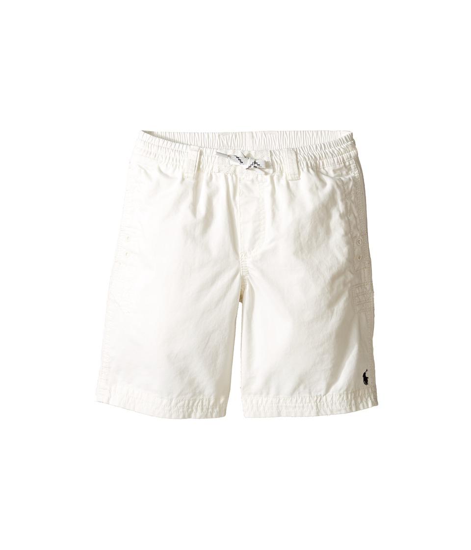 Polo Ralph Lauren Kids - Broken Twill Relaxed Shorts (Little Kids) (Nevis) Boy's Shorts