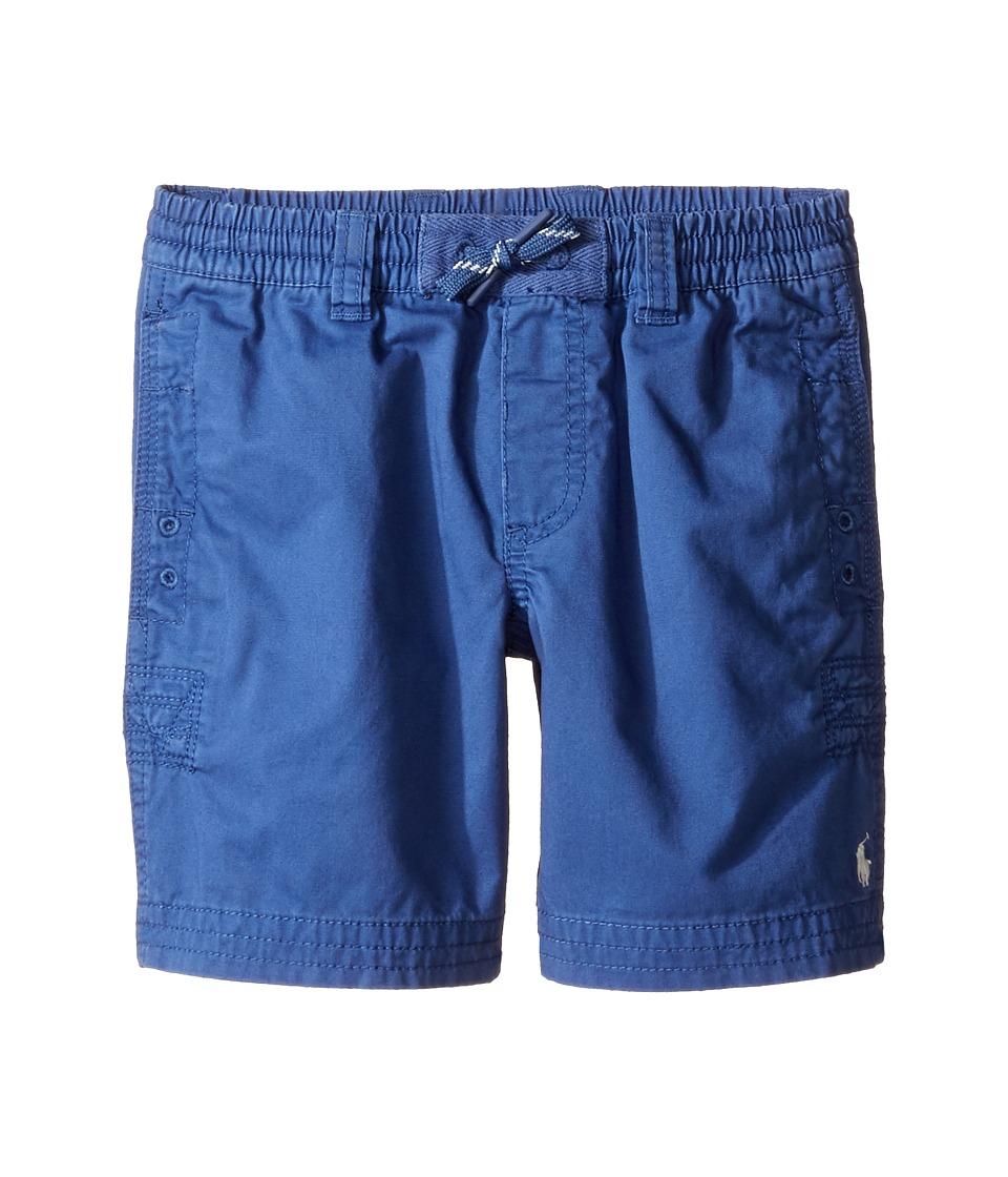 Polo Ralph Lauren Kids - Broken Twill Relaxed Shorts (Little Kids) (Sporting Blue) Boy's Shorts