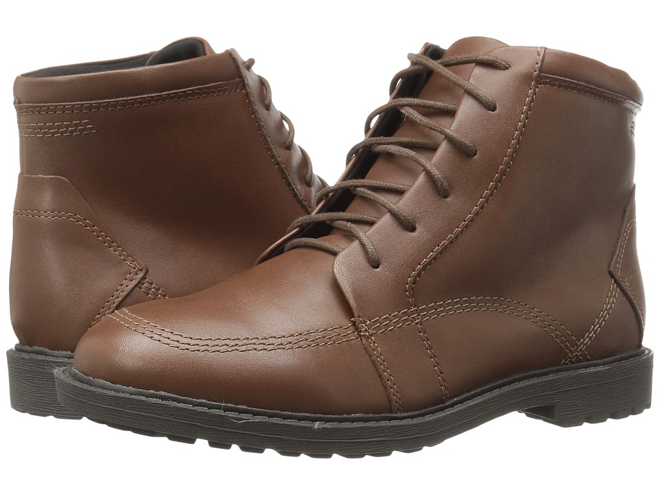 Kenneth Cole Reaction Kids - Strada Boot (Little Kid/Big Kid) (Brown) Boys Shoes