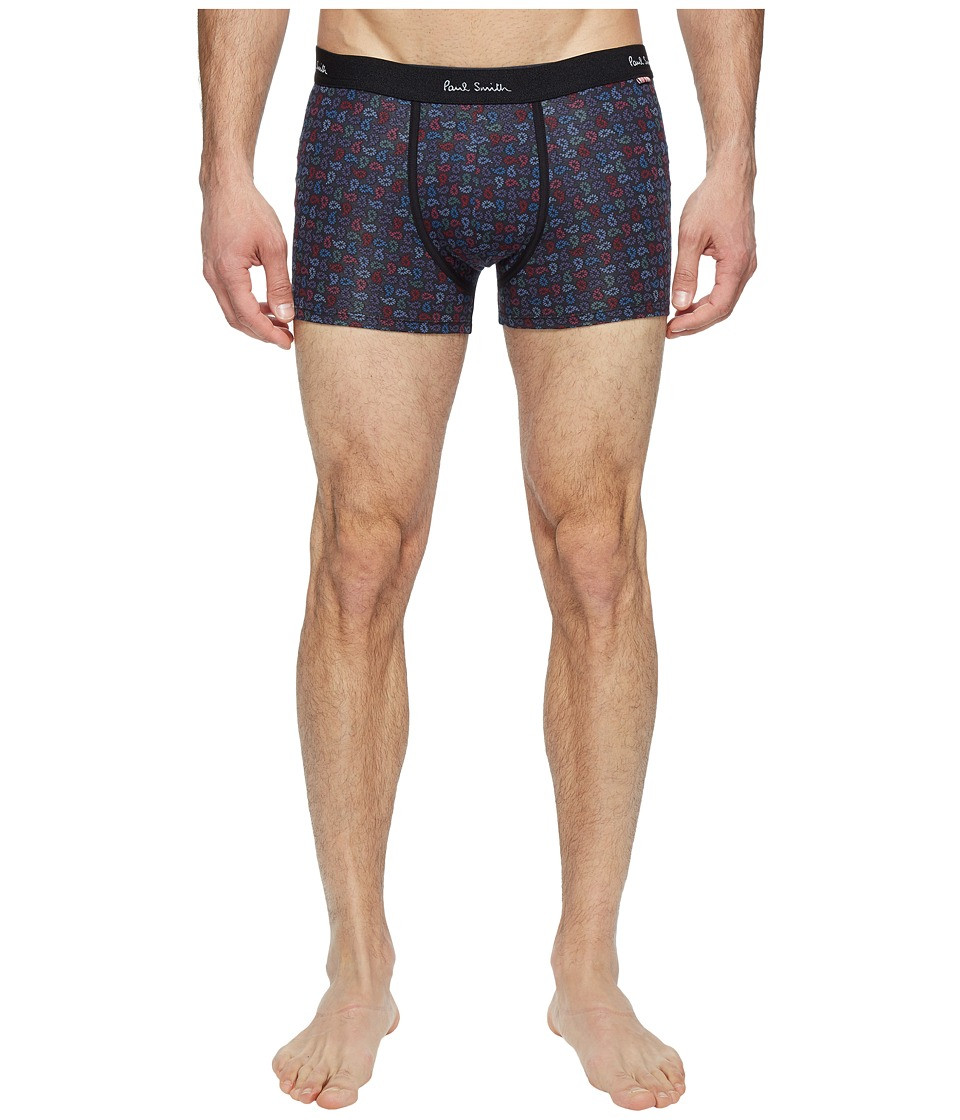 Paul Smith - Floating Paisley Trunk (Black 1) Men's Underwear
