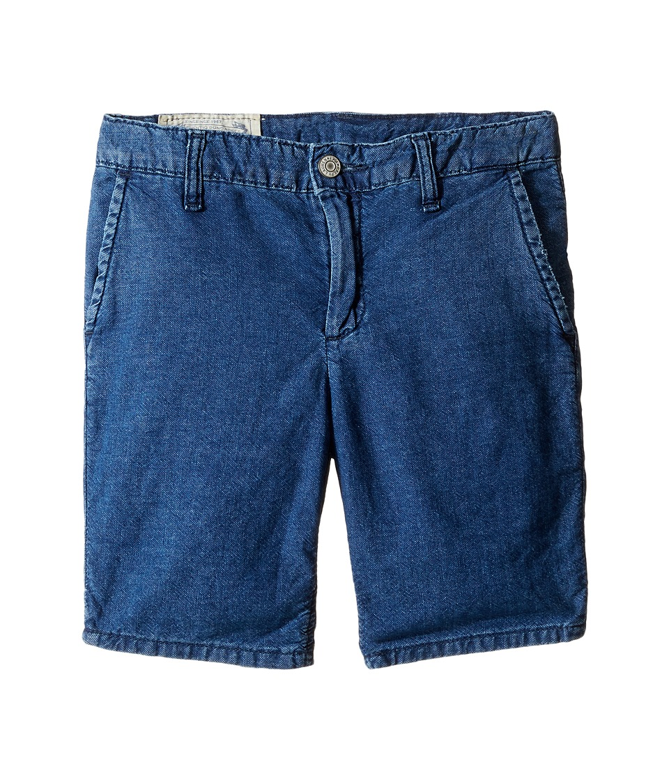 Polo Ralph Lauren Kids - Denim Rolled Shorts (Big Kids) (Justin Wash) Boy's Shorts
