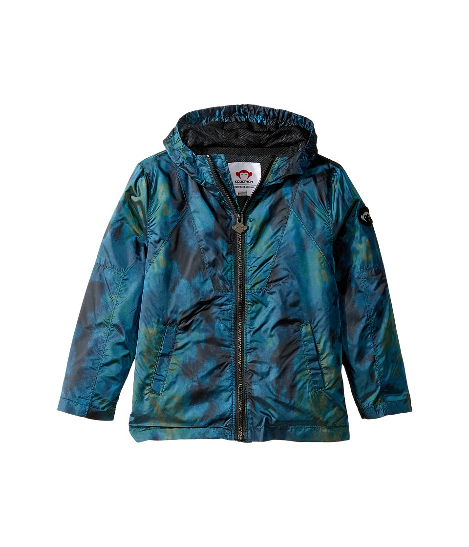 Appaman Kids - Odyssey Windbreaker (Toddler/Little Kids/Big Kids) (Dark Aurora) Boy's Coat
