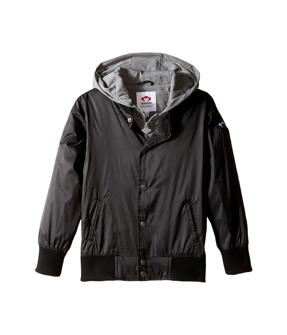 Appaman Kids - Big H Jacket (Toddler/Little Kids/Big Kids) (Black) Boy's Coat