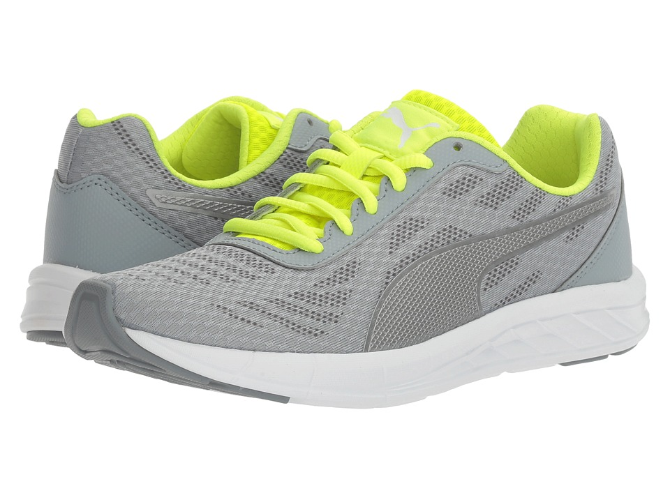 PUMA - Meteor (Quarry/Quiet Shade/Safety Yellow) Women's Lace up casual Shoes