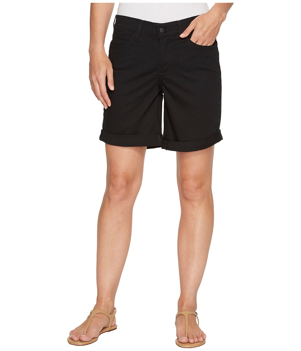 NYDJ - Jessica Boyfriend Shorts in Black (Black) Women's Shorts
