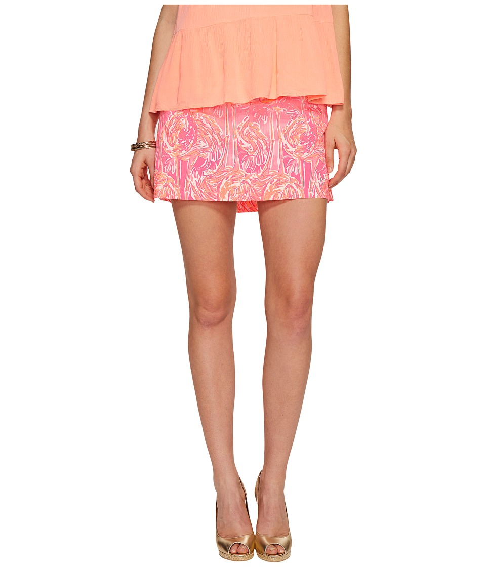 Lilly Pulitzer - Nicki Skort (Tiki Pink Tappin It Back Small) Women's Skort
