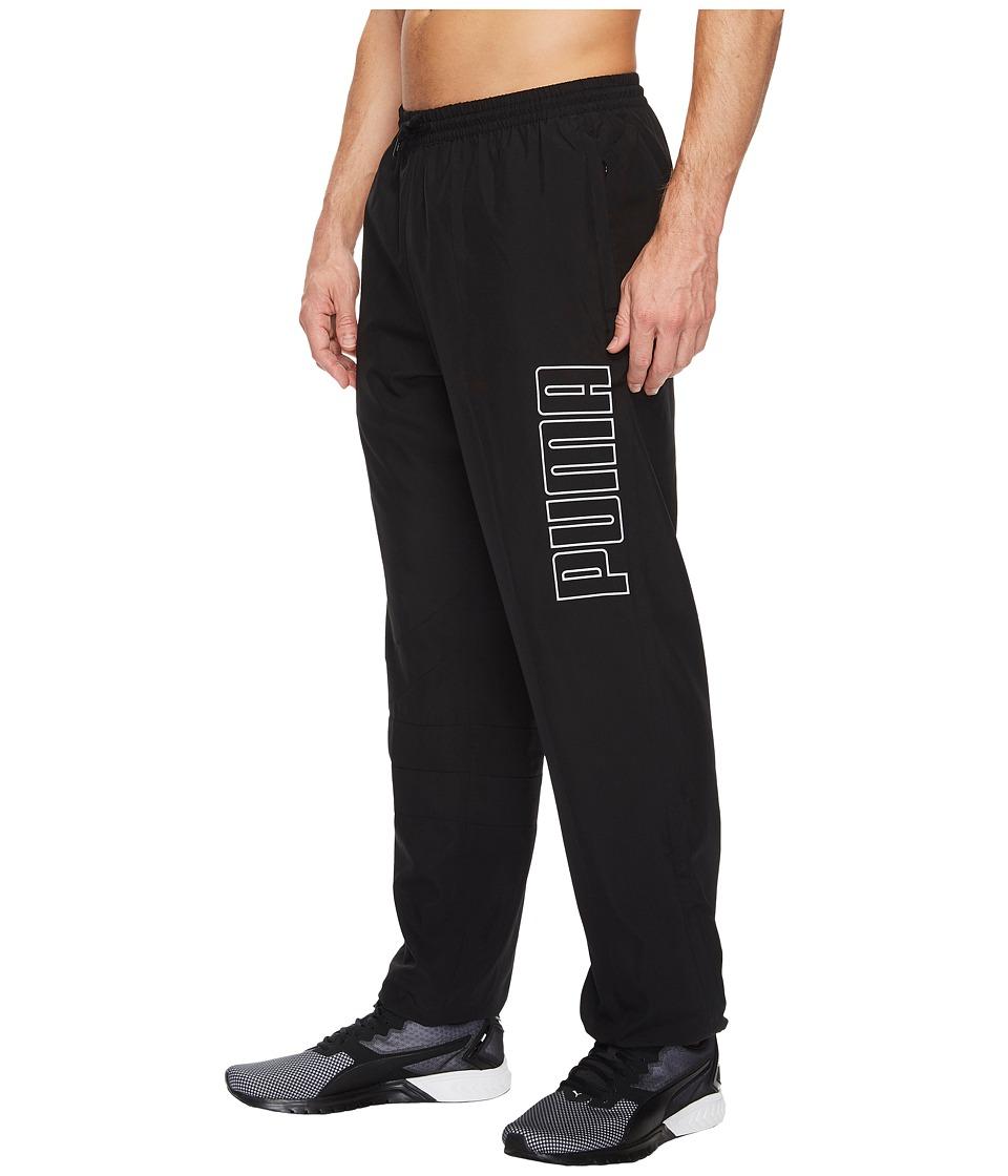 PUMA - Record Woven Pants (PUMA Black) Men's Casual Pants