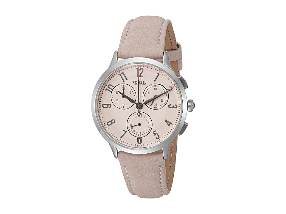 Fossil - Abilene Sport Leather - CH3088 (Pink) Watches