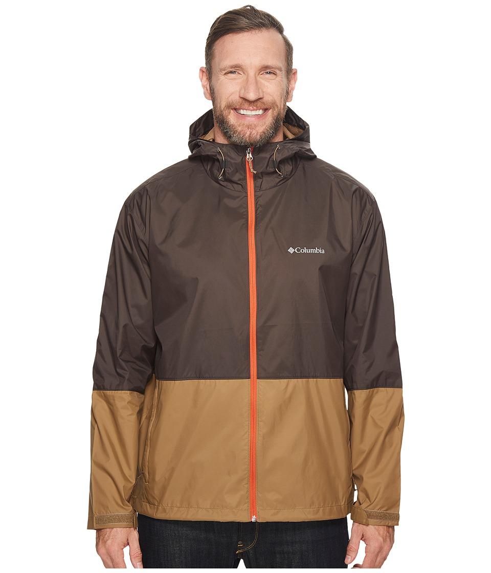 Columbia - Plus Size Roan Mountaintm Jacket (Buffalo/Delta/Hot Zipper Zip) Men's Coat