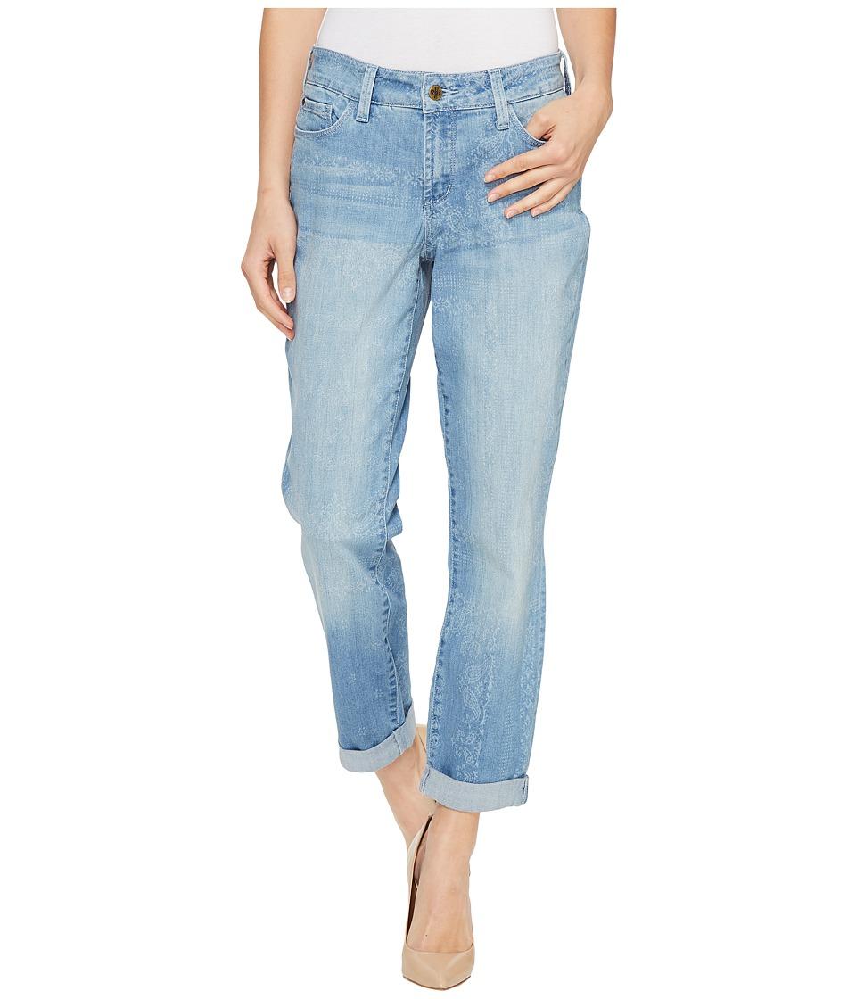 NYDJ - Jessica Relaxed Boyfriend in Bandana Discharge Print (Bandana Discharge Print) Women's Jeans