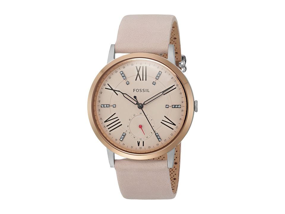 Fossil - Gazer Leather - ES4163 (Pink) Watches