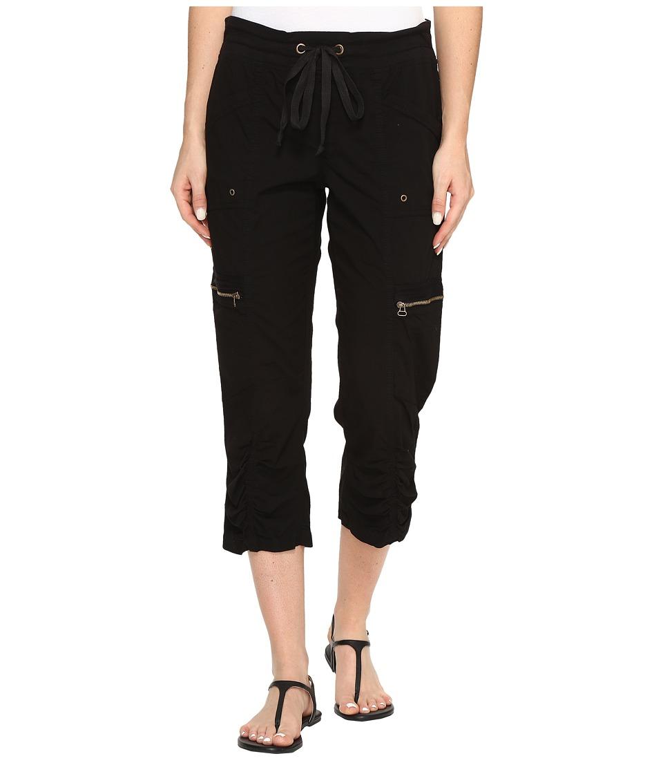 XCVI - Emerson Crop (Black) Women's Casual Pants