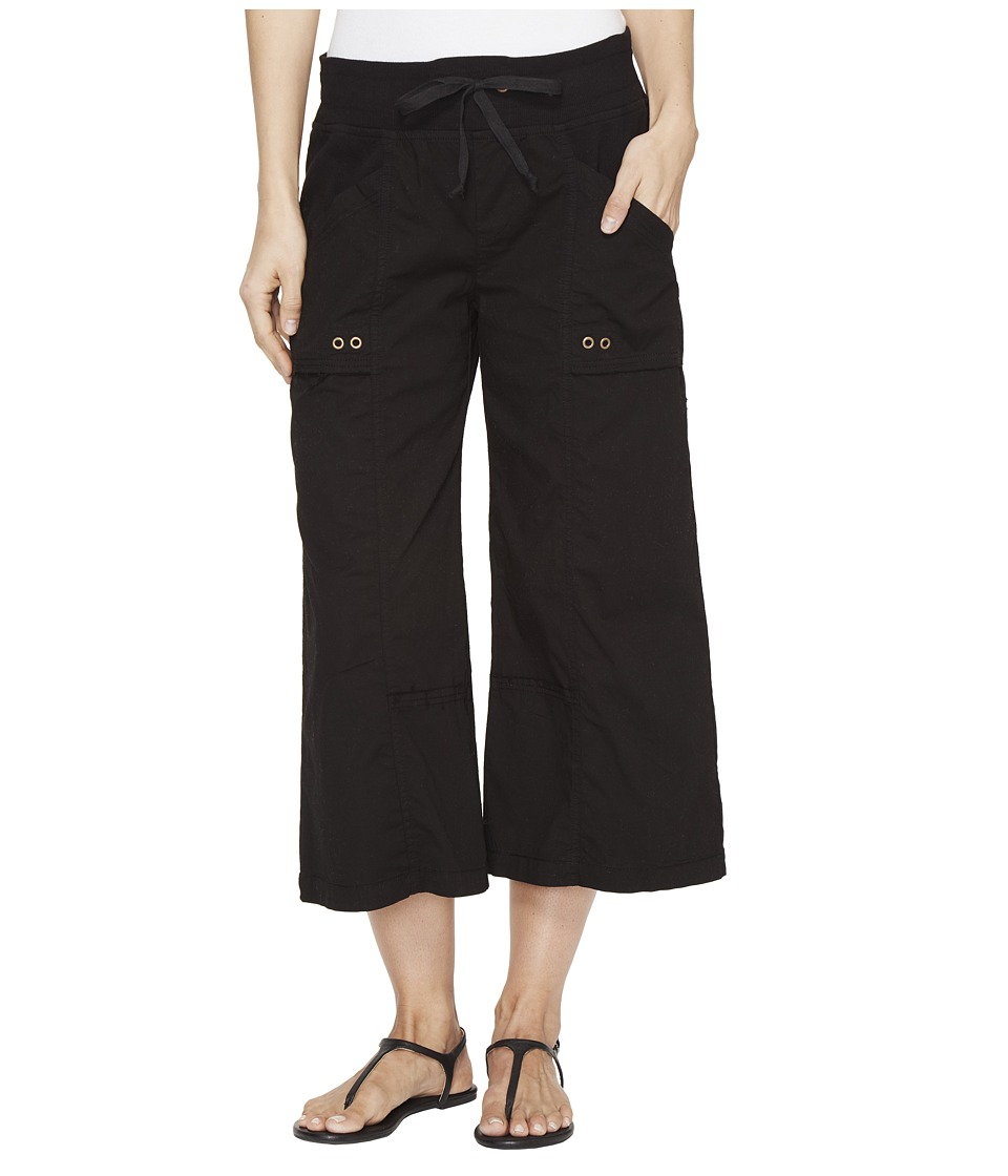 XCVI - Ayara Crop Pants (Black) Women's Capri