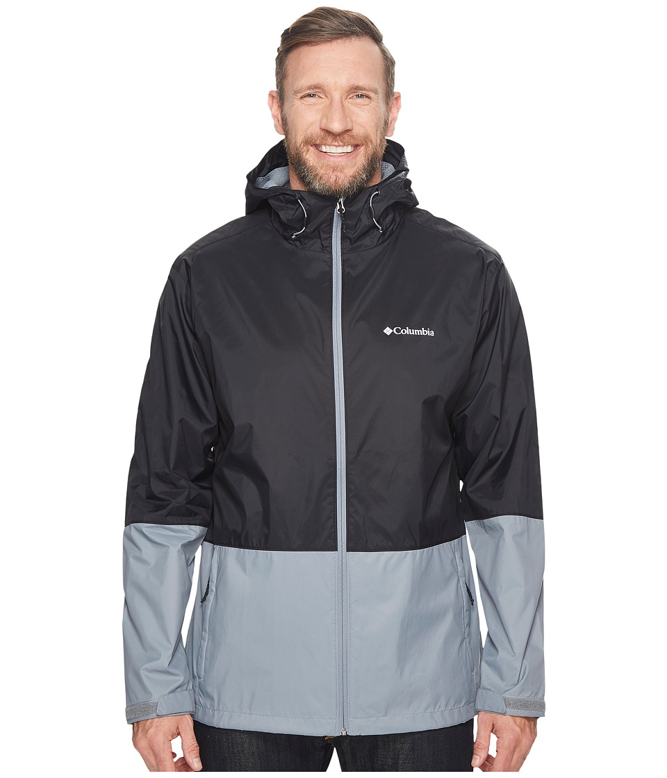 Columbia - Big Tall Roan Mountaintm Jacket (Black/Grey Ash) Men's Coat