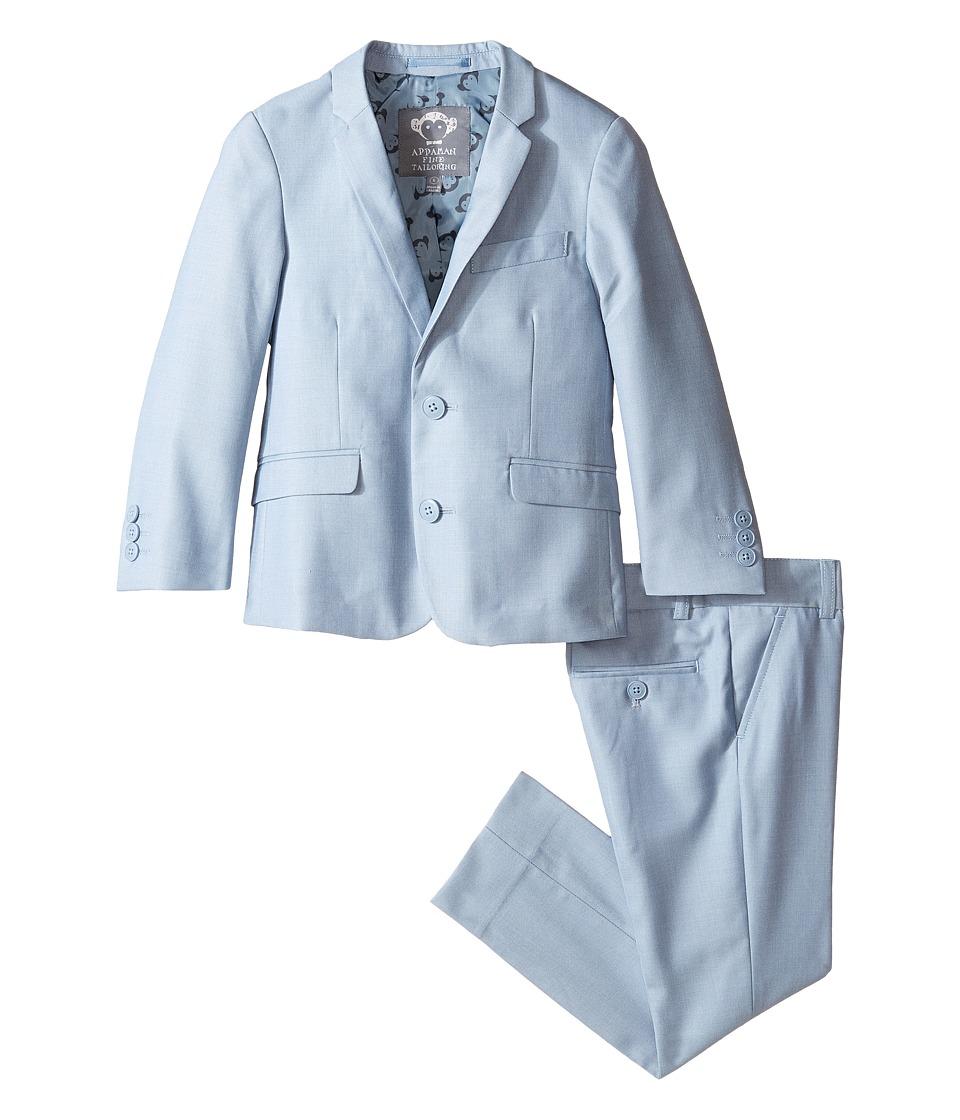 Appaman Kids - Two-Piece Mod Suit (Toddler/Little Kids/Big Kids) (Cool Blue) Boy's Suits Sets
