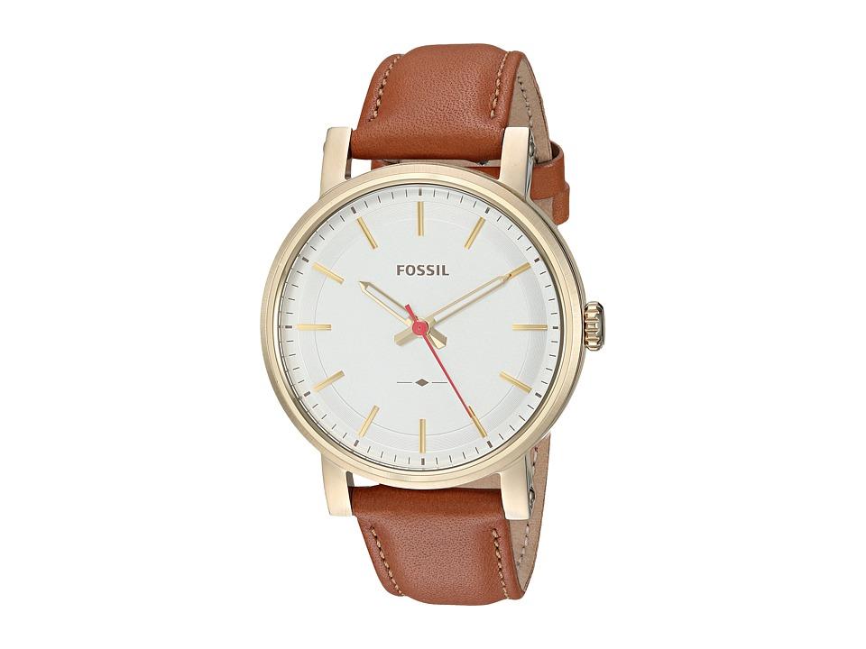 Fossil - Original Boyfriend Sport Leather - ES4181 (Silver) Watches
