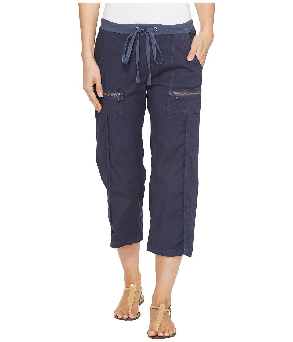 XCVI - Marco Crop Pants (Anchor Navy) Women's Casual Pants