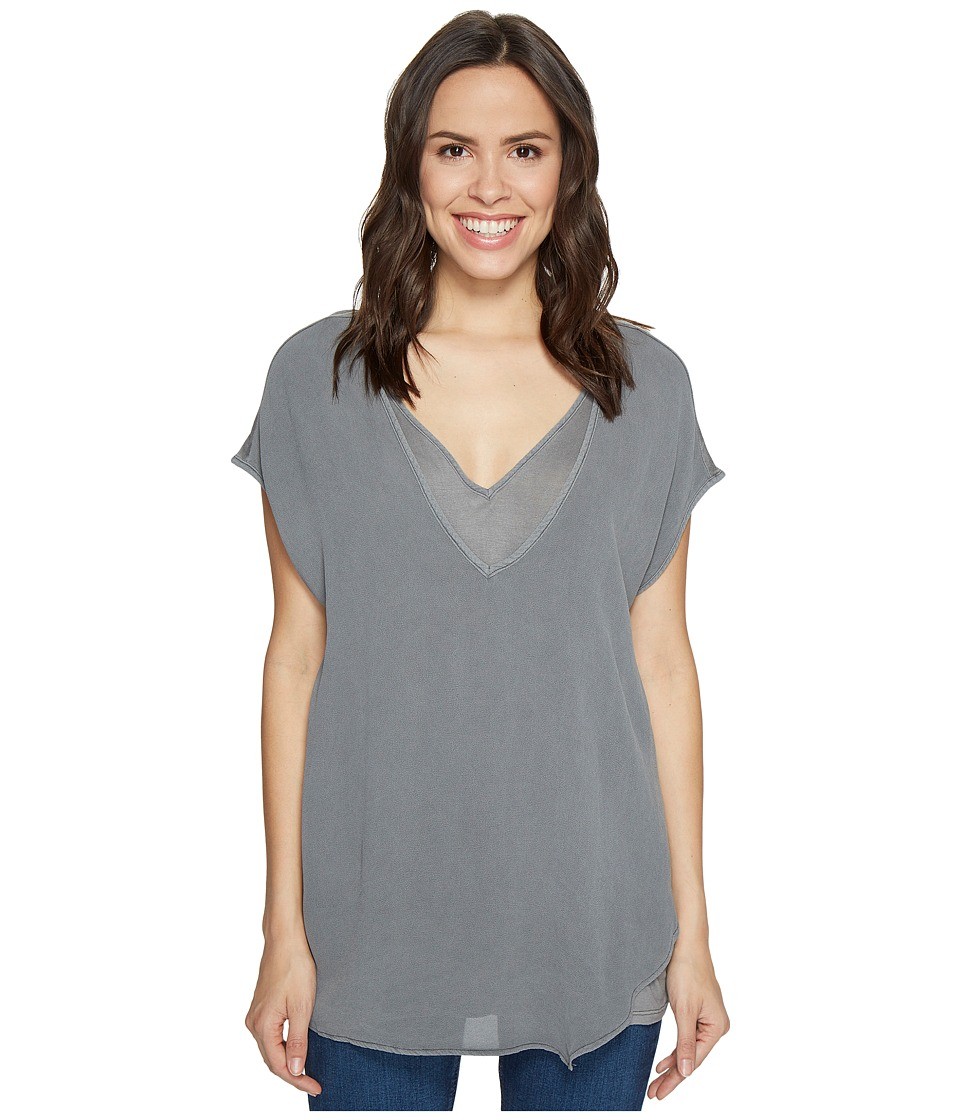 XCVI - Mindy Top (Mysterious Mauve Pigment) Women's Clothing
