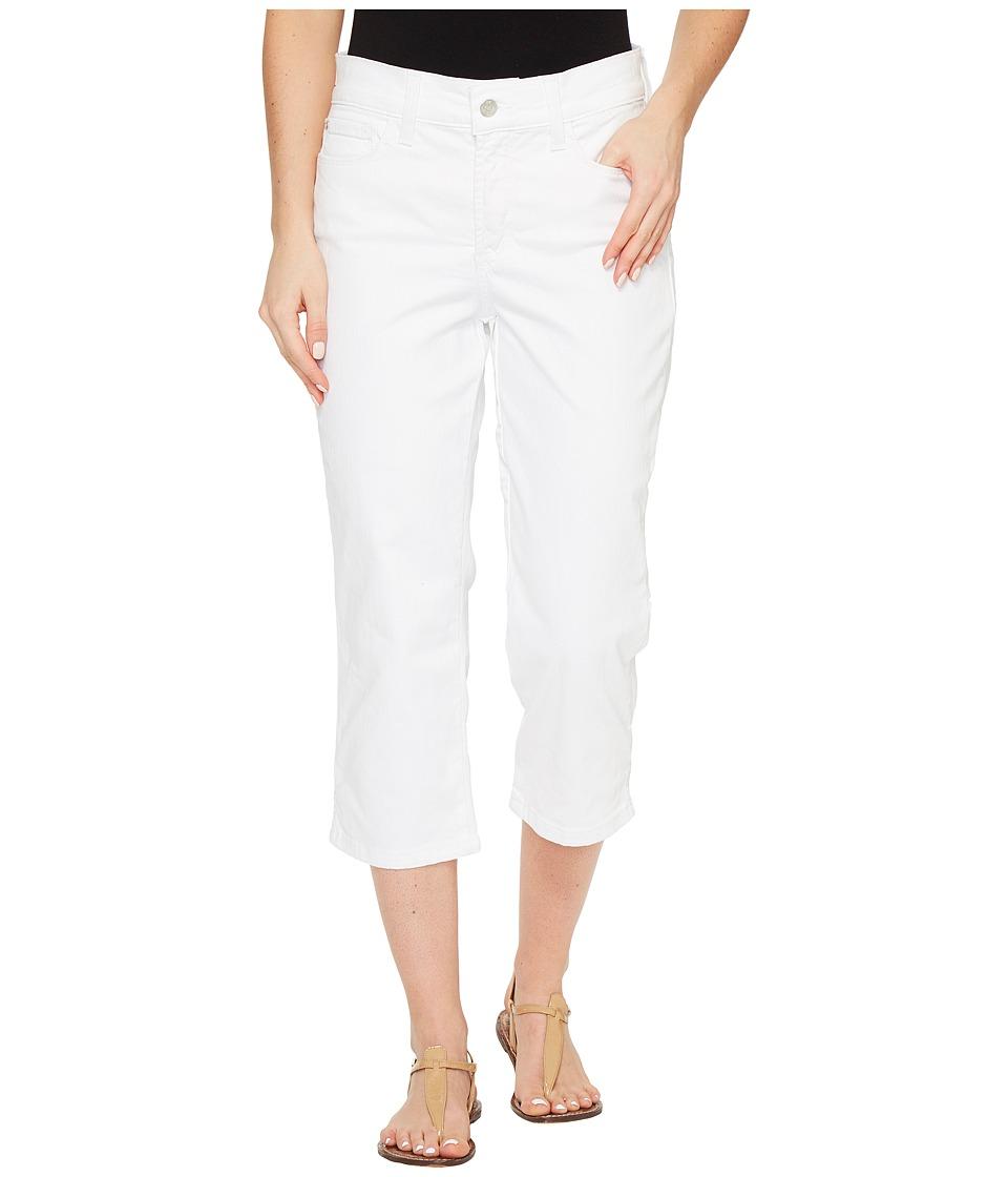 NYDJ - Marilyn Crop in Optic White (Optic White) Women's Jeans