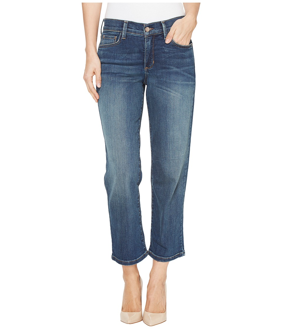 NYDJ Marilyn Relaxed Capris in Oak Hill (Oak Hill) Women
