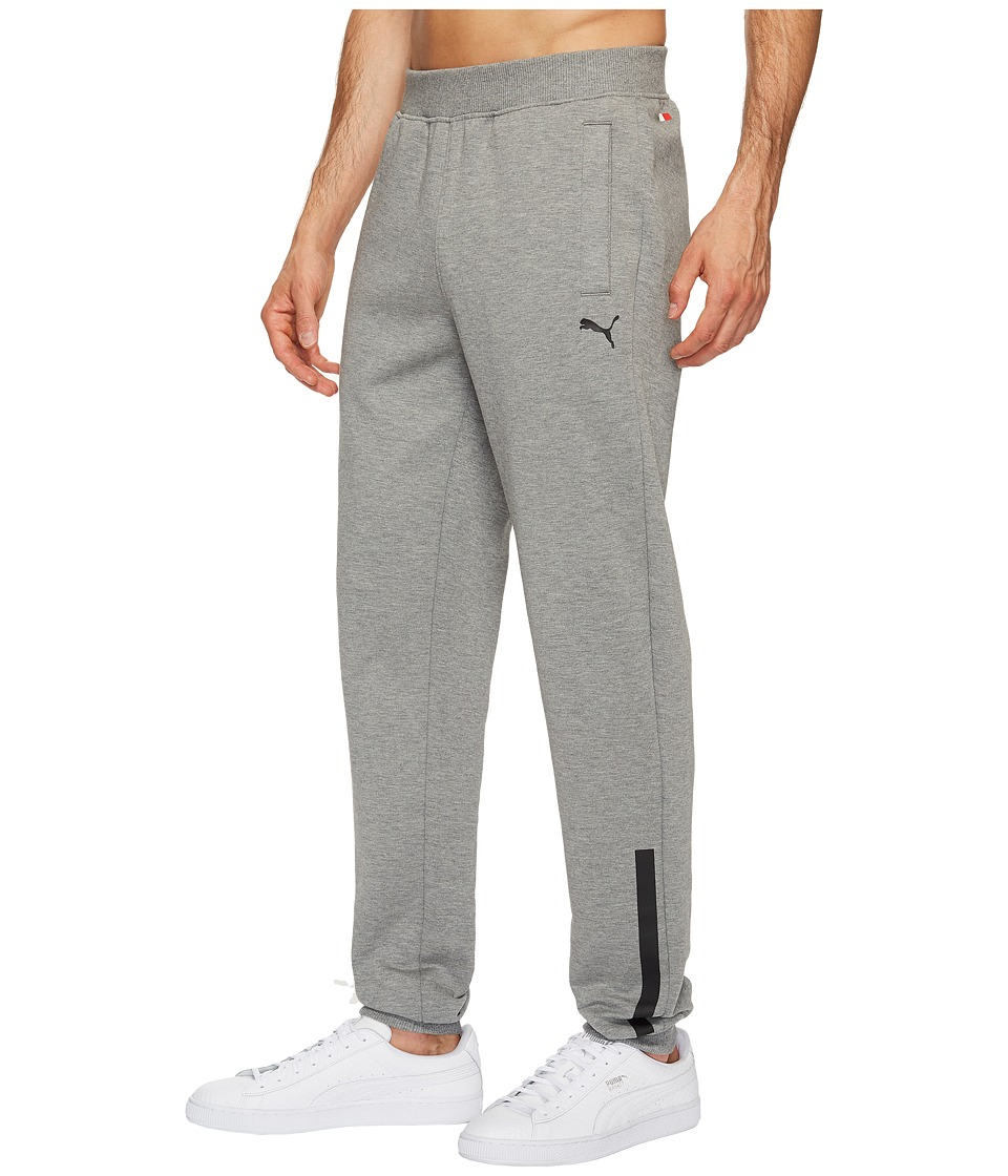 PUMA - SF Sweatpants (Medium Gray Heather) Men's Casual Pants