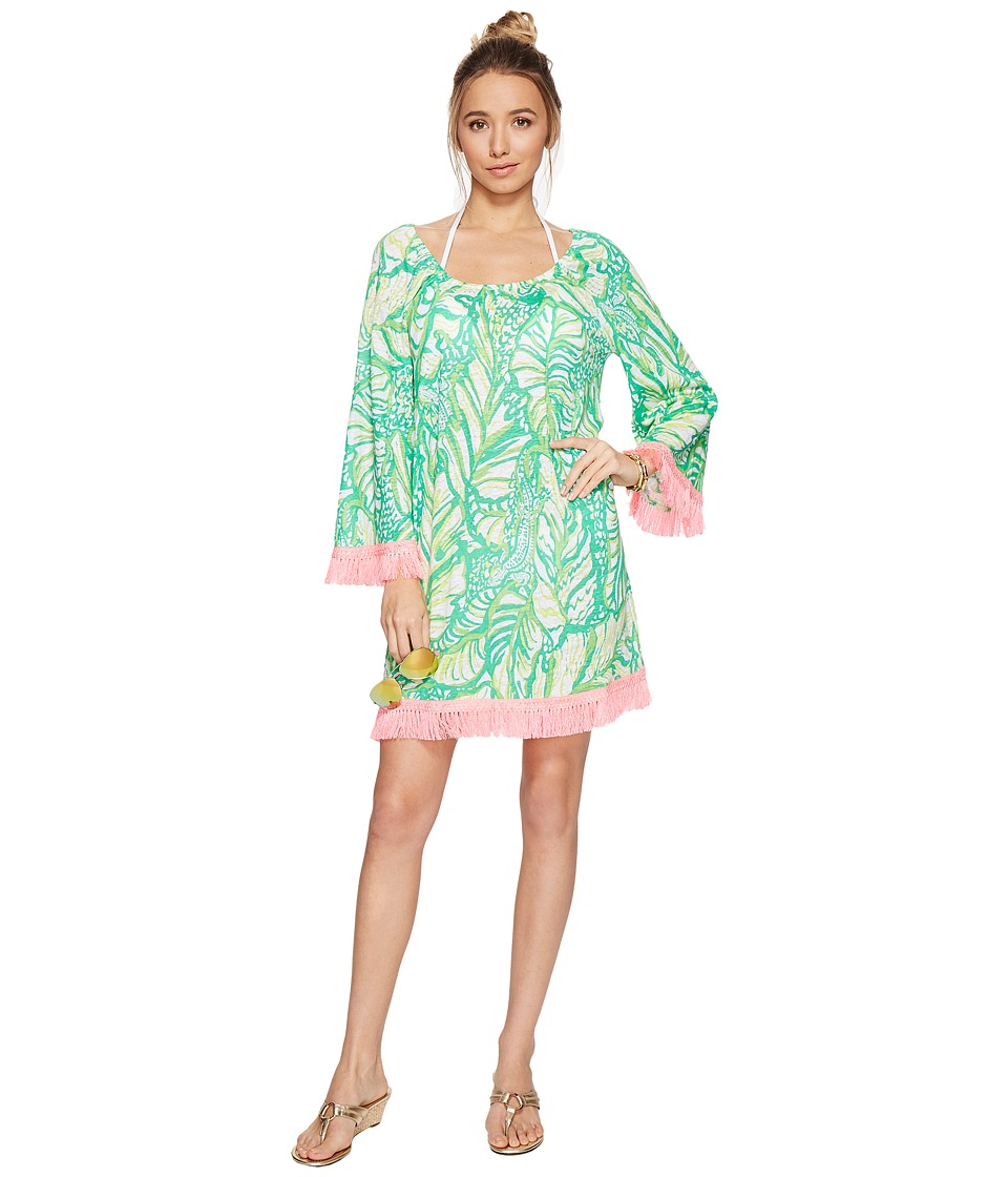 Lilly Pulitzer - Getaway Cover-Up (Toucan Green Coco Loca) Women's Dress