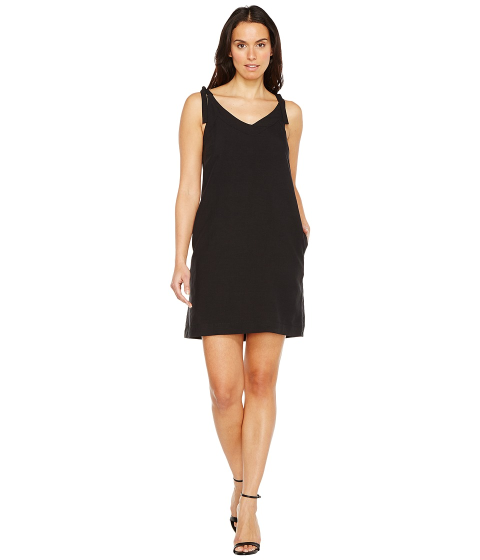 Lilla P Tie Strap Dress (Black) Women