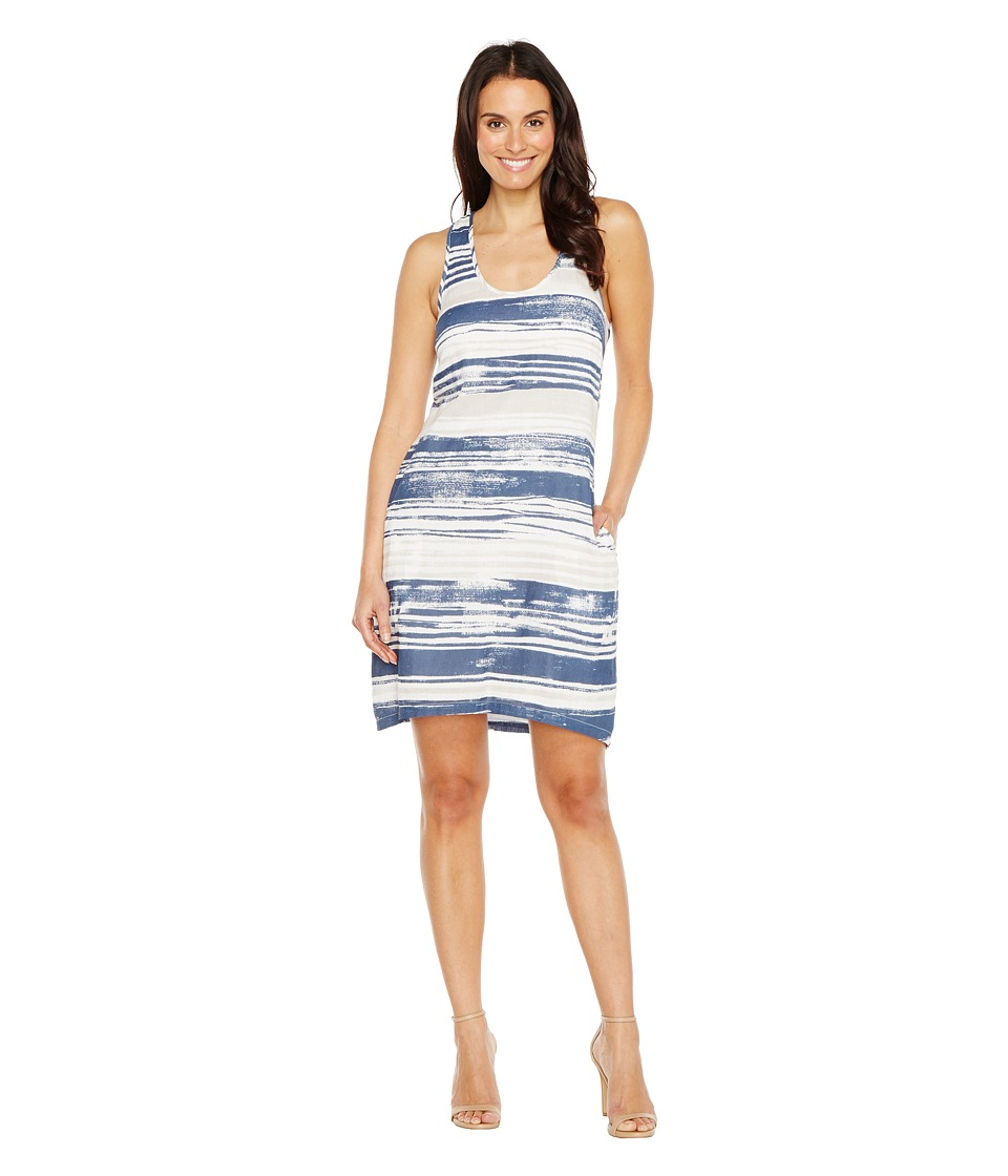 Lilla P High-Low Tank Dress (Lapis Print) Women