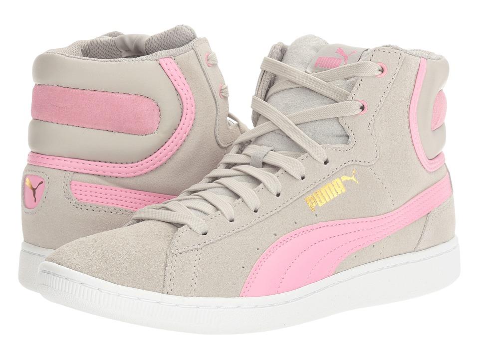 PUMA - Puma Vikky Mid (Gray Violet/Prism Pink) Women's Shoes