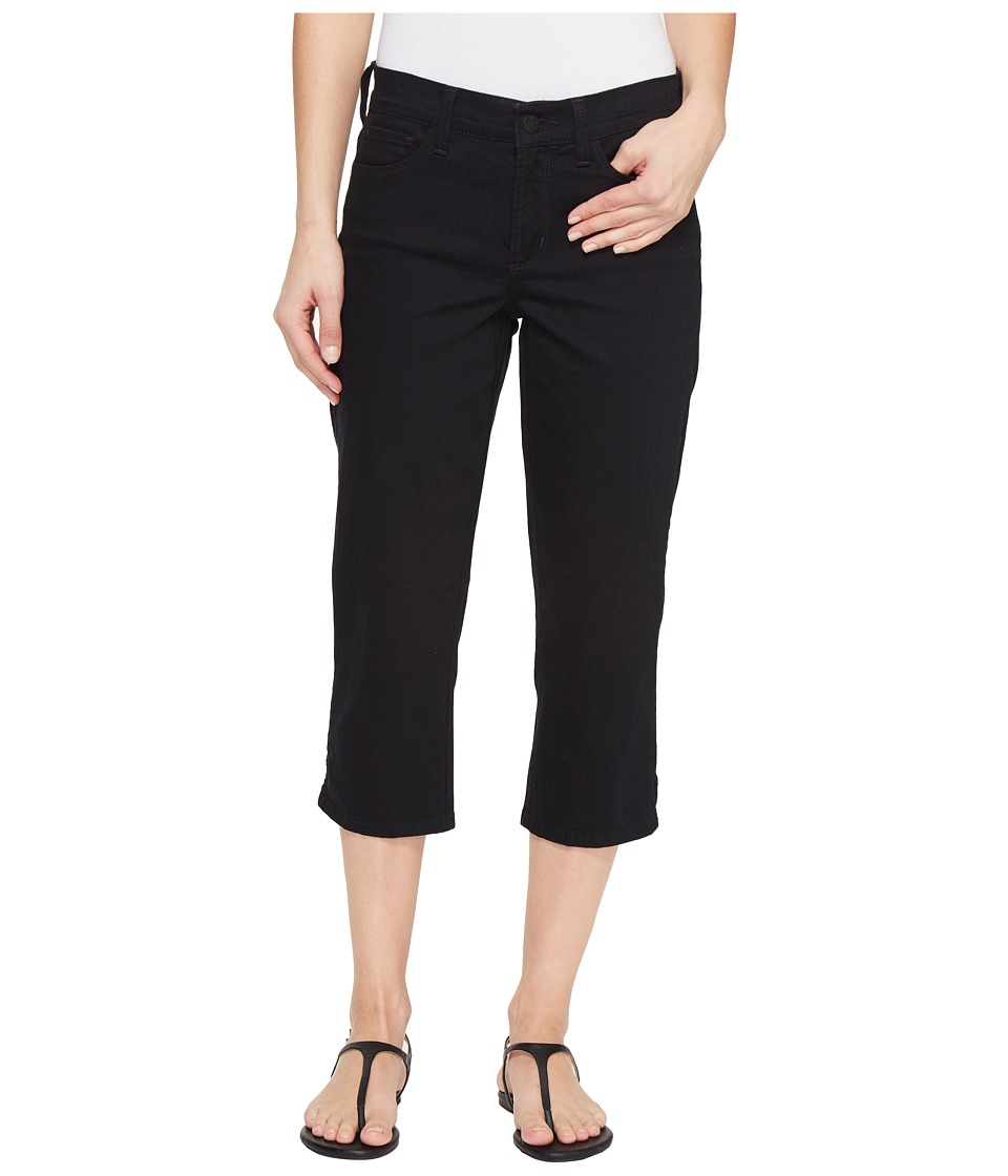NYDJ - Marilyn Crop in Black (Black) Women's Jeans