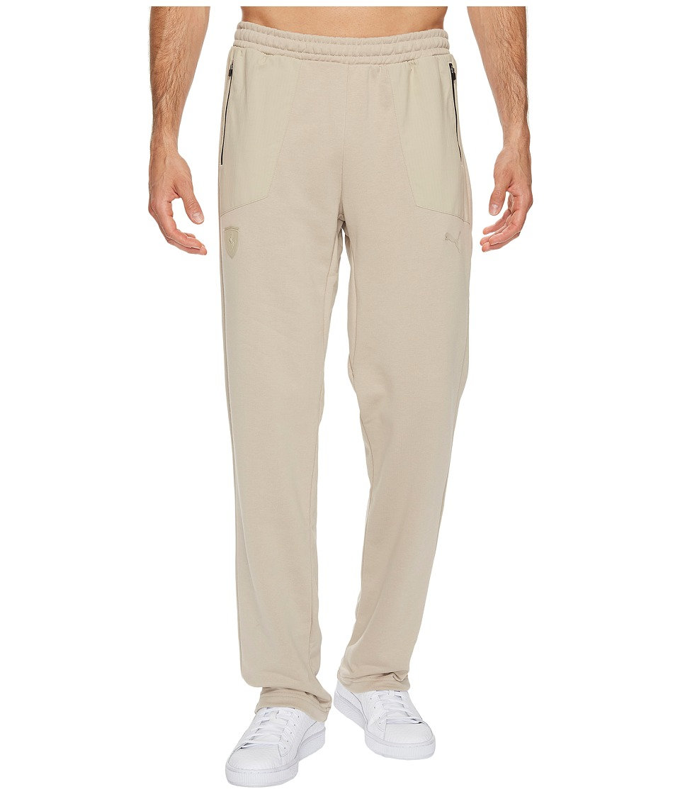 PUMA - Ferrari Open Cuff Sweatpants (Pure Cashmere) Men's Casual Pants