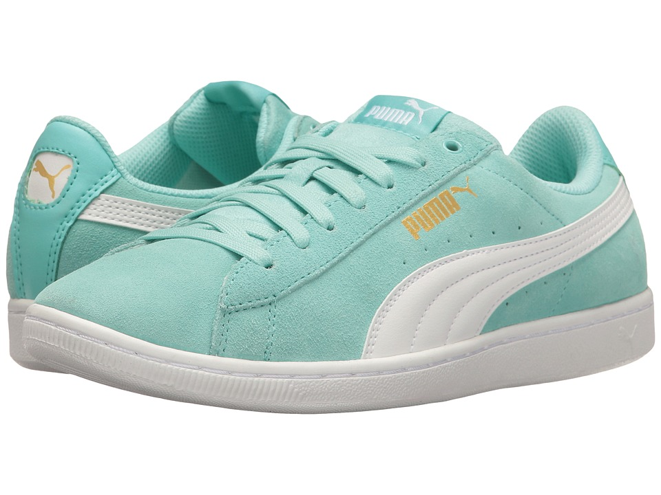 PUMA - Puma Vikky (Aruba Blue/Puma White) Women's Shoes