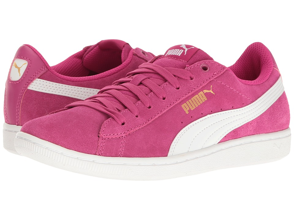 PUMA - Puma Vikky (Rose Violet/Puma White) Women's Shoes