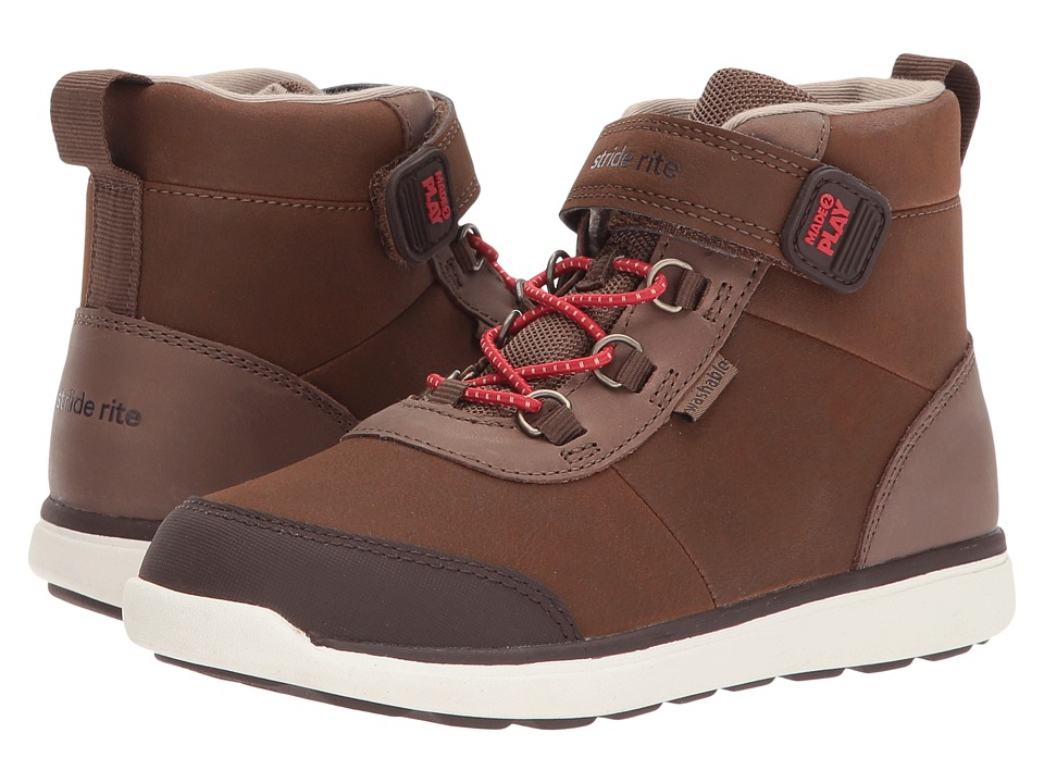 Stride Rite Made 2 Play Duncan (Little Kid) (Brown) Boys Shoes