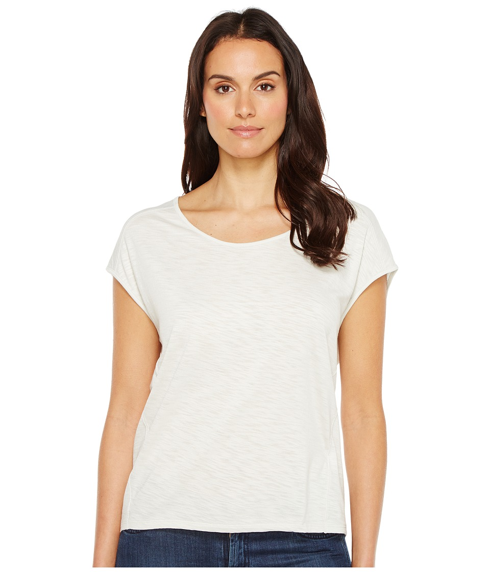 Lilla P - Seamed Scoop Neck (Dew) Women's Clothing