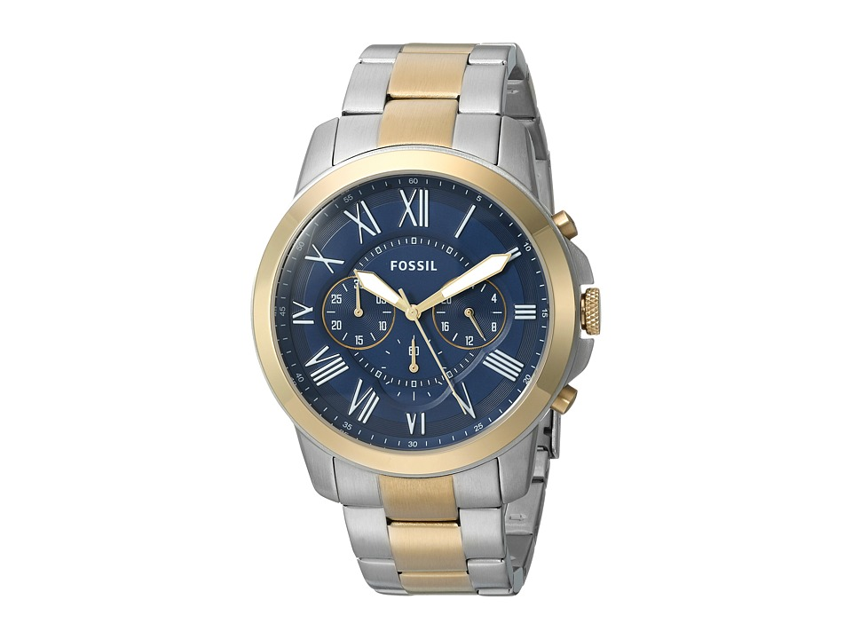 Fossil - Grant - FS5273 (Blue) Watches