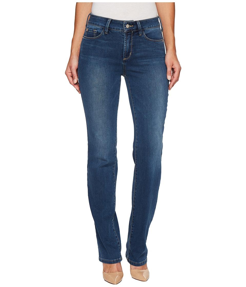 NYDJ - Marilyn Straight in Future Fit Denim in Le Maire (Le Maire) Women's Jeans