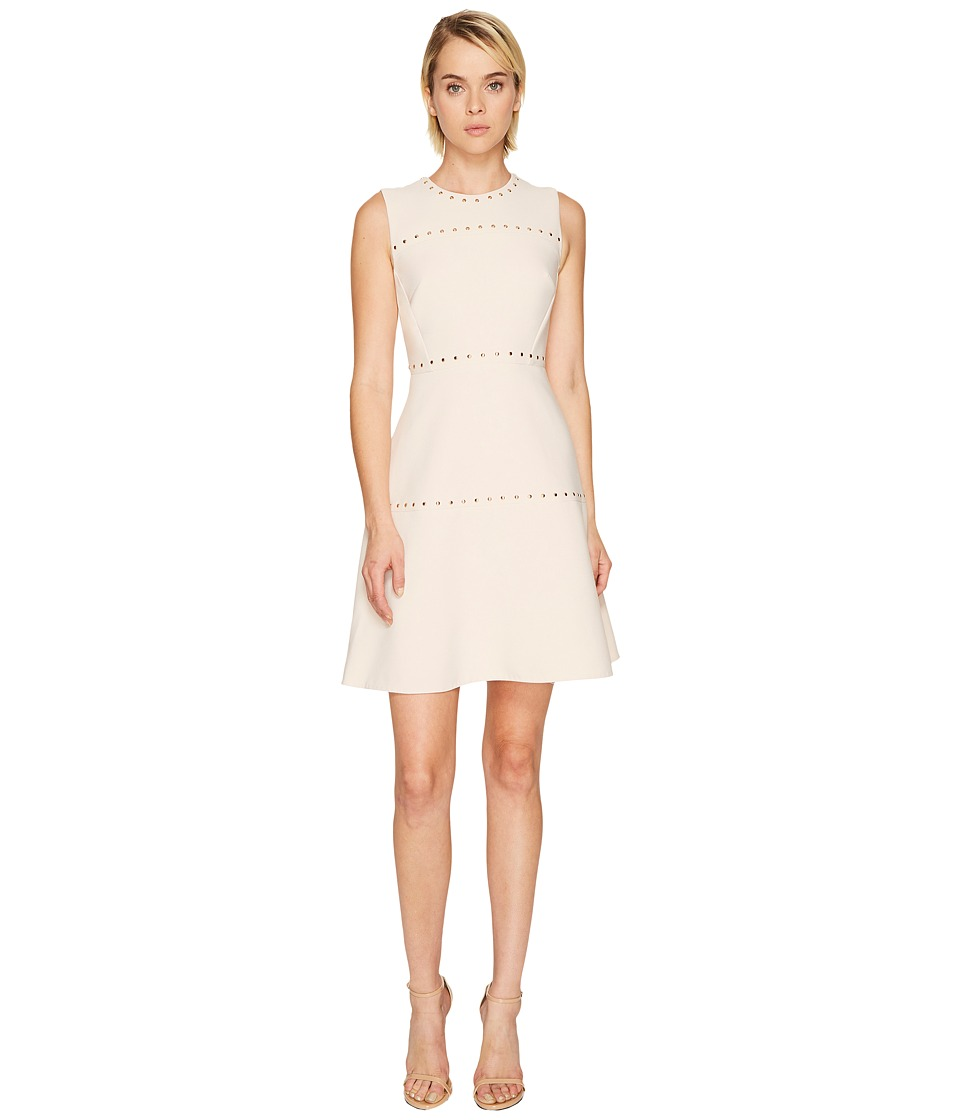 Kate Spade New York Studded Crepe Dress