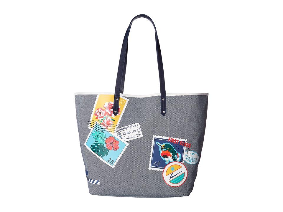 Vera Bradley - Beach Tote (Oxford Postage Stamps) Tote Handbags