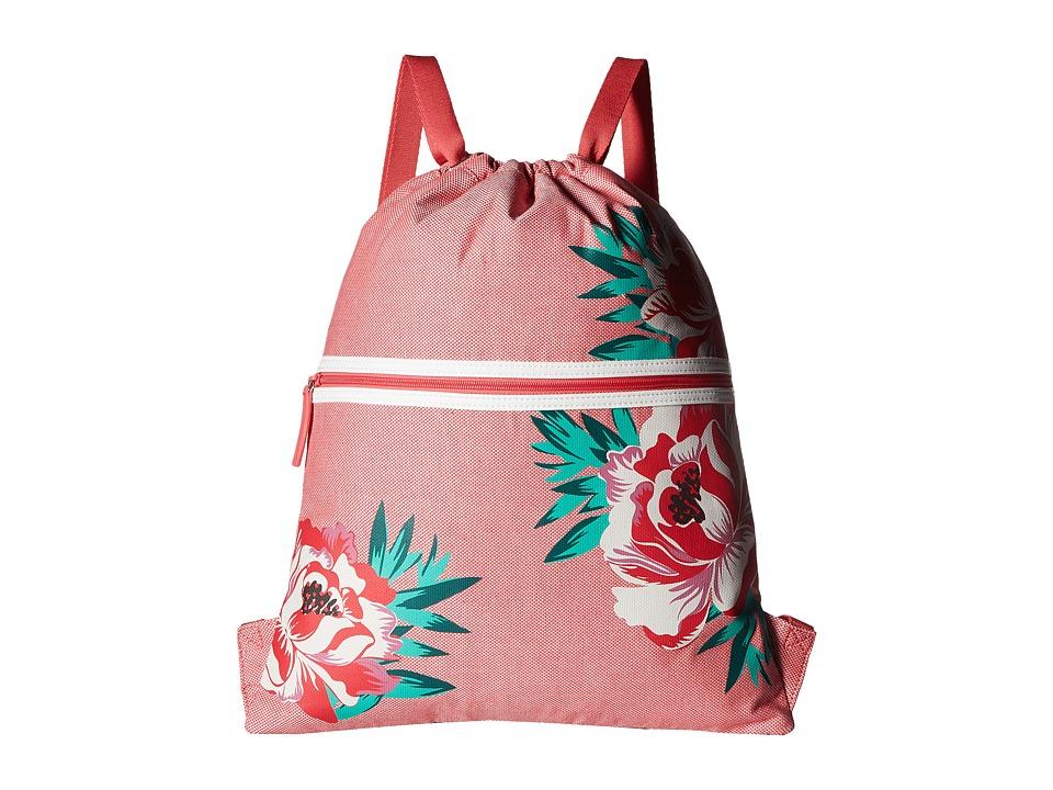 Vera Bradley - Beach Backsack (Oxford Floral) Backpack Bags
