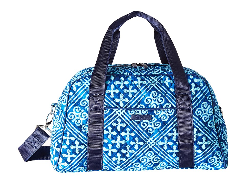Vera Bradley Luggage - Compact Sport Bag (Cuban Tiles) Bags