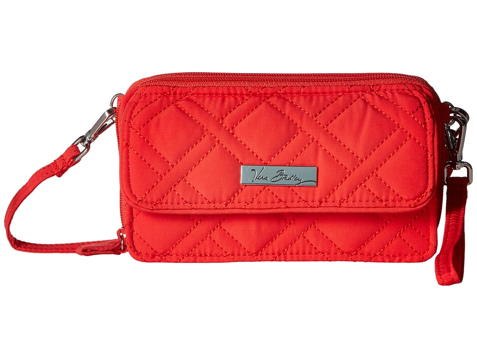 Vera Bradley - All in One Crossbody for iPhone 6+ (Canyon Sunset) Clutch Handbags