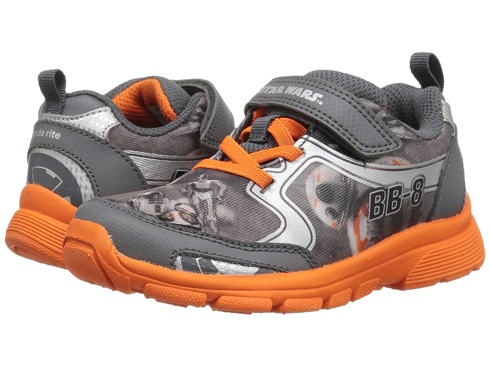 Stride Rite - Star Wars BB-8 Roller (Toddler/Little Kid) (Grey/Orange) Boys Shoes